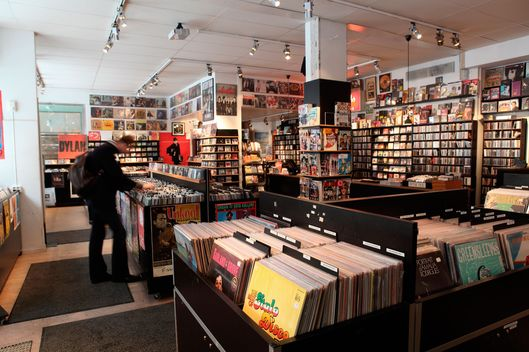 Pet Sounds record shop Sodermalm, Stockholm, Sweden