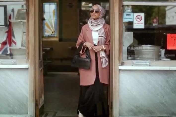 "Mariah Idrissi in H&M's ""Close the Loop"" video."
