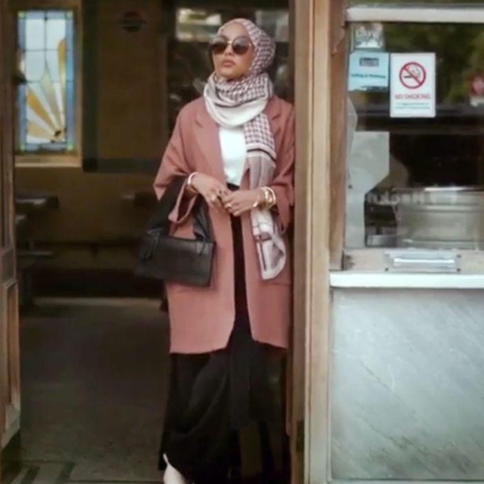 Mariah Idrissi in H&M's