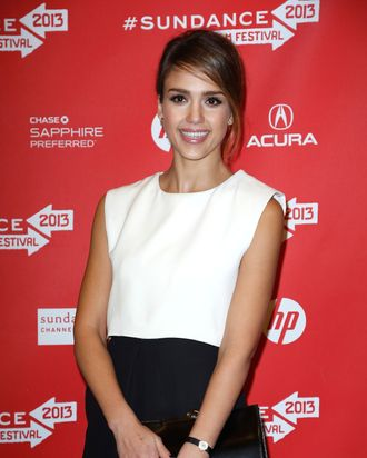 Actress Jessica Alba attends the