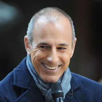 Matt Lauer attends NBC's