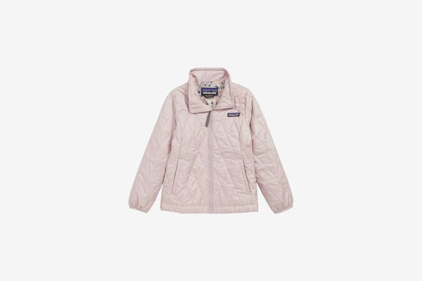 Patagonia Nano Puff Quilted Water Resistant Jacket (Little Girls & Big Girls)