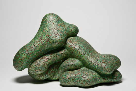 100% Pure, 2005, acrylic on fired clay, 12 ½ x 19 x 11 inches, Frank and Berta Gehry, © Ken Price, photograph © Fredrik Nilsen, courtesy of the Los Angeles County Museum of Art