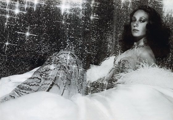 Marisa Berenson, photographed by Tony Kent, featured in French <i>Vogue</i>'s June/July 1973 issue.