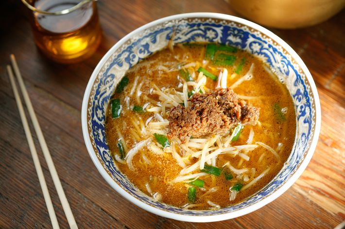 The XO miso ramen is made with Momofuku's vegetarian version of the sauce.