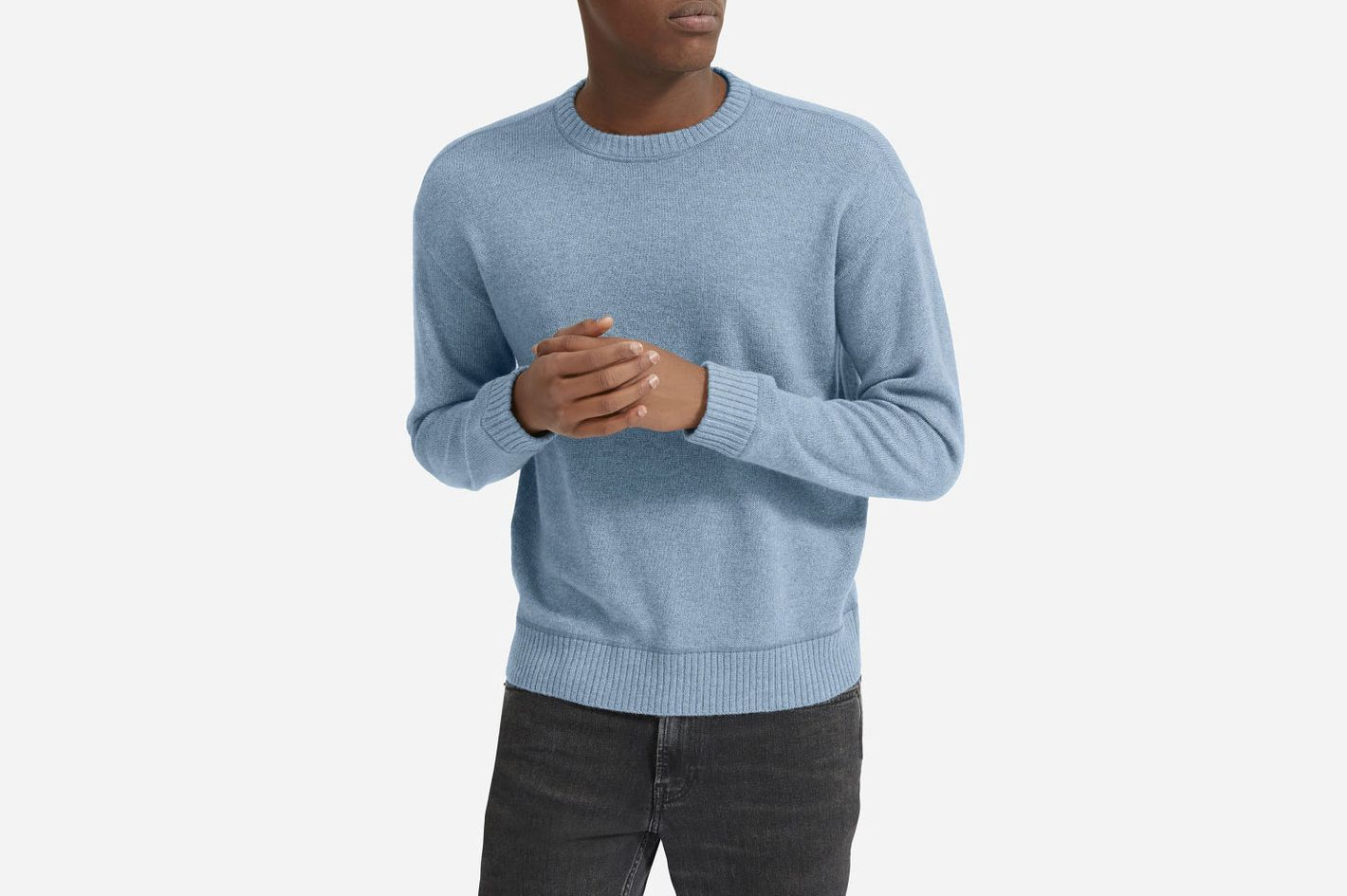 Everlane Heavyweight Cashmere Crew