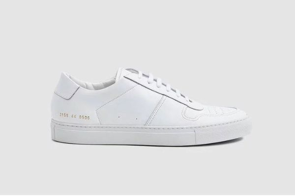 Common Projects Bball Low Sneaker in White