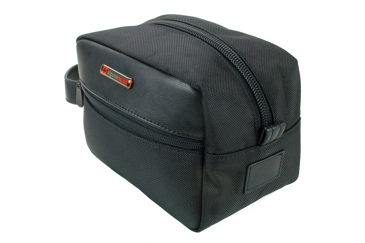 2c596afab4b5 Alpine Swiss Hudson Travel Toiletry Bag Shaving Dopp Kit Case at Amazon