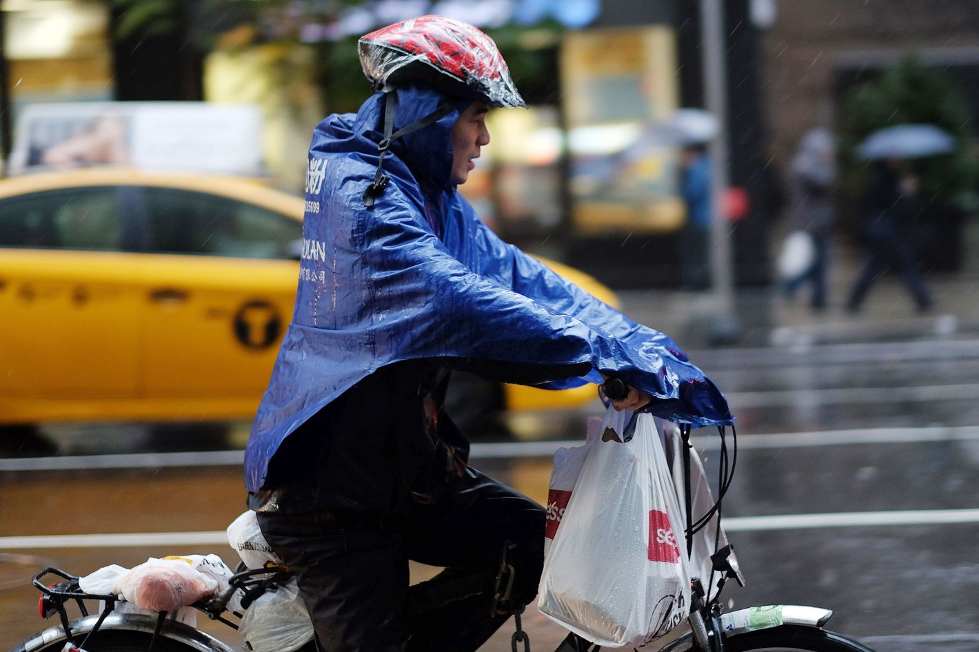 Nyc Food Delivery Couriers Demand Better Working Conditions