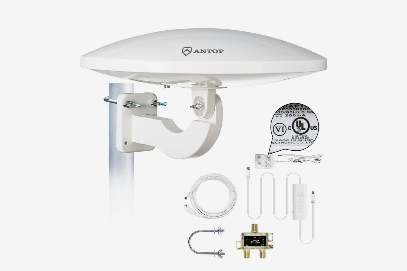 ANTOP UFO Amplified HDTV Antenna