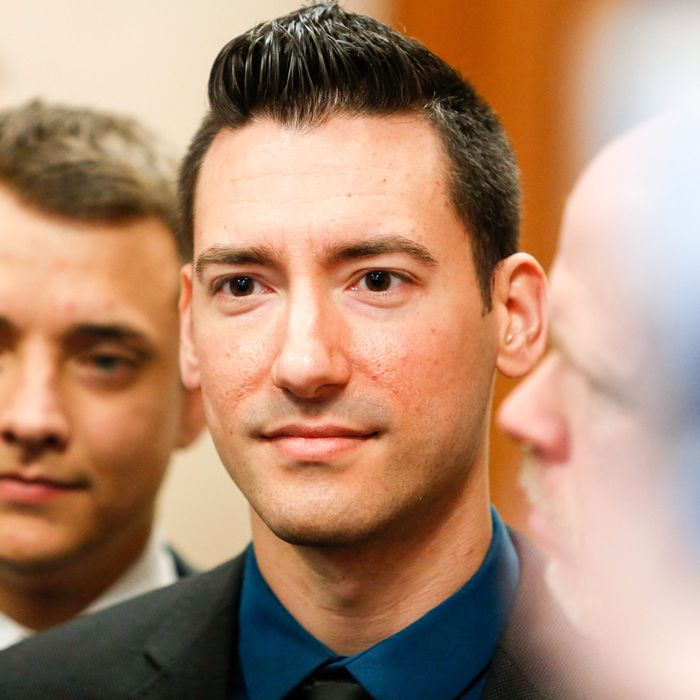 David Daleiden, center.