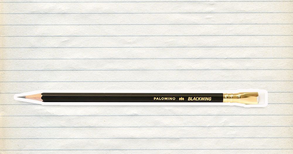 The Best Pencil for Writing is the Palomino Blackwing