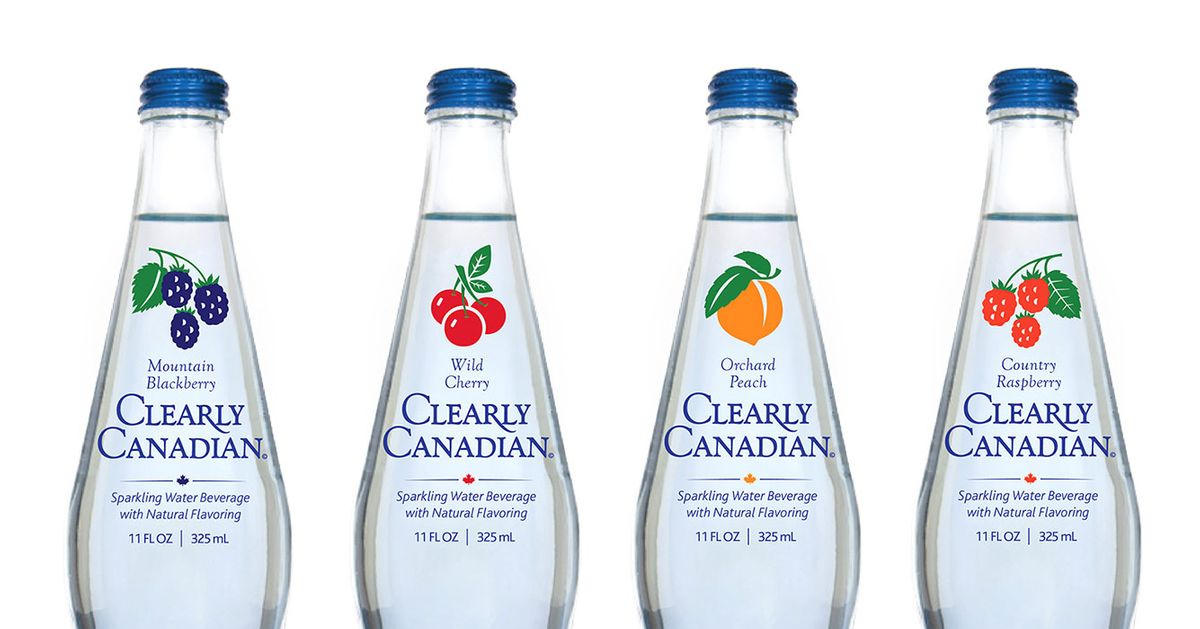 Natural Flavored Water Brands
