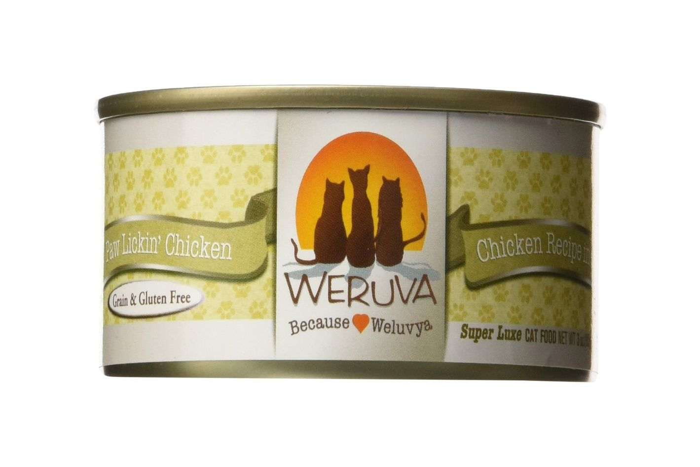 Weruva Classic Grain-Free Cat Food, Pack of 24
