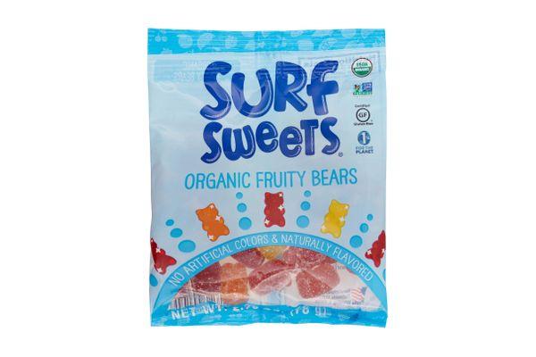 Surf Sweets Organic Fruity Bears, 2.75 Ounce Bags