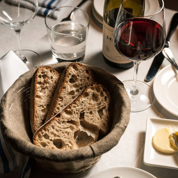 Lafayette makes its organic pain de campagne in house.