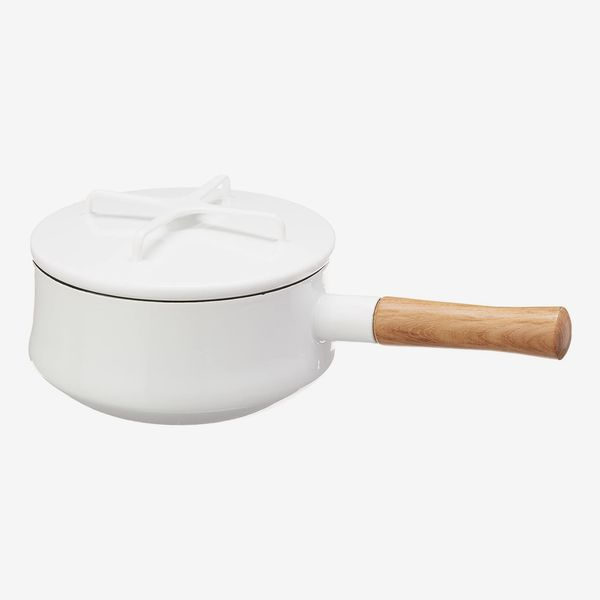 Dansk Kobenstyle White Saucepan, Medium