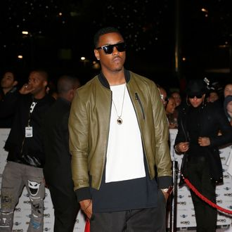 LONDON, ENGLAND - OCTOBER 22: Jeremih attends the MOBO Awards at SSE Arena on October 22, 2014 in London, England. (Photo by Tristan Fewings/Getty Images)