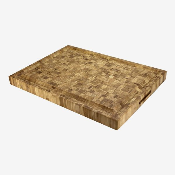Totally Bamboo Pro Board Long Bamboo Carving and Cutting Board