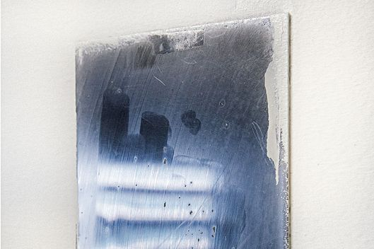 A Small Unbreakable Tin Wall Mirror In Solitary Cell Reflection Is Of Slatted Window Photo Ashley Gilbertson VII For New York Magazine