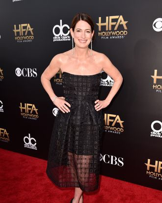 HOLLYWOOD, CA - NOVEMBER 14: Writer Gillian Flynn attends the 18th Annual Hollywood Film Awards at The Palladium on November 14, 2014 in Hollywood, California. (Photo by Frazer Harrison/Getty Images for DCP)