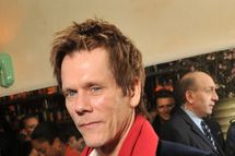"NEW YORK, NY - JANUARY 19:  Actor Kevin Bacon attends The Cinema Society & Gilt Man with Grey Goose screening after party for ""Man on a Ledge"" at Acme on January 19, 2012 in New York City.  (Photo by Stephen Lovekin/Getty Images)"