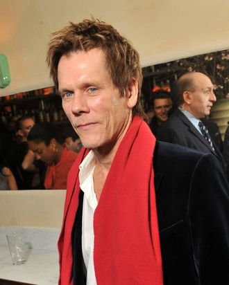 NEW YORK, NY - JANUARY 19: Actor Kevin Bacon attends The Cinema Society & Gilt Man with Grey Goose screening after party for