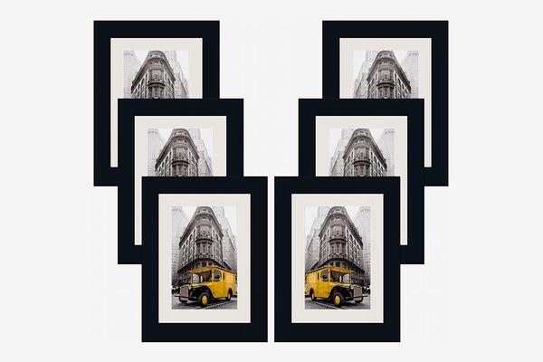 Art Emotion Wood Picture Frame, Black