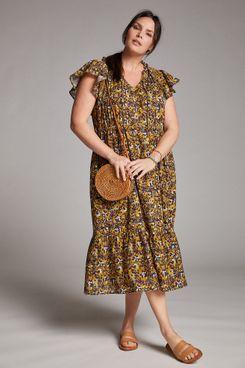 Othilia Aleksia Ruffled Maxi Dress