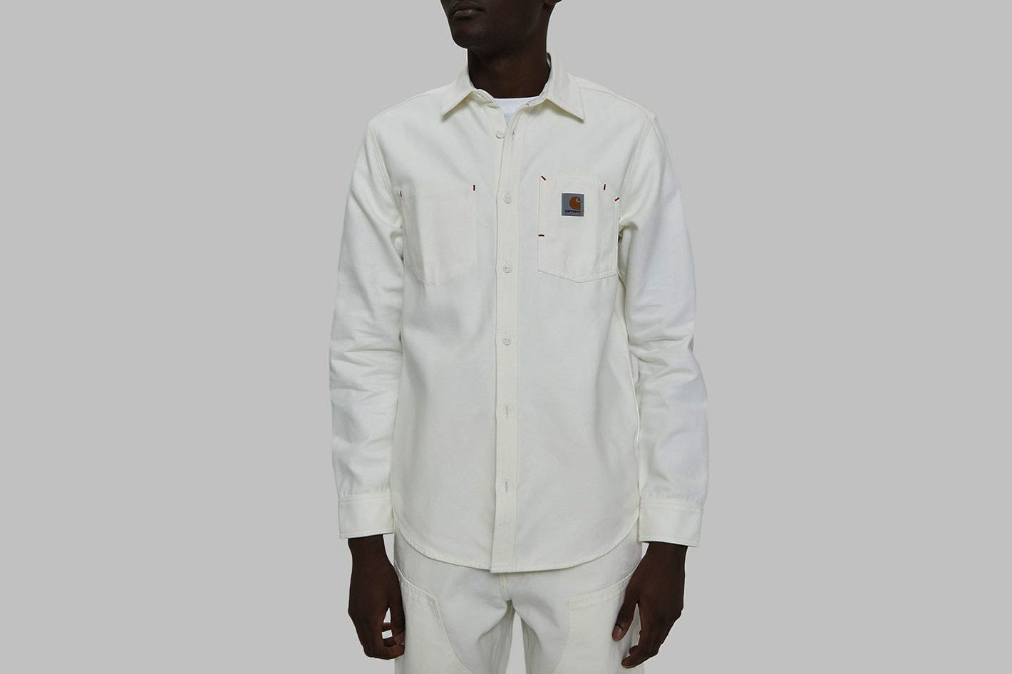 Carhartt WIP Tony Button Up Shirt in Wax