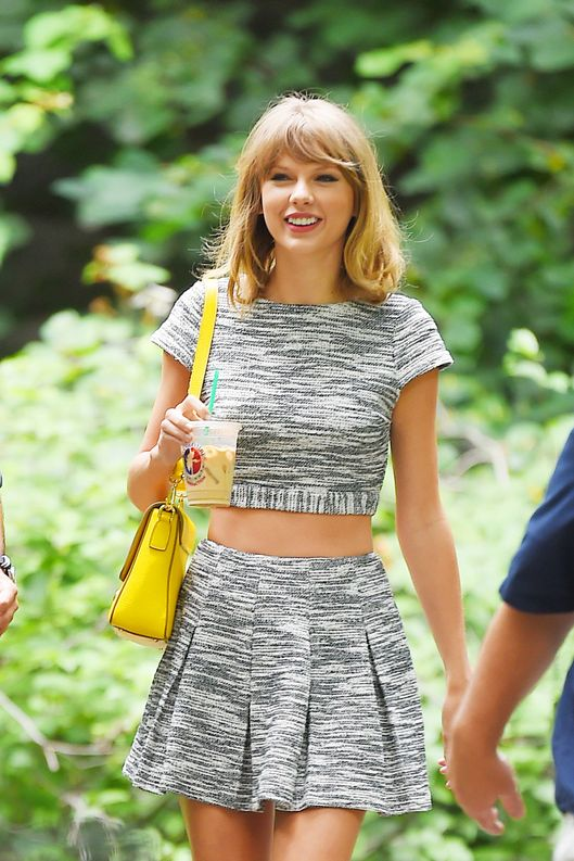 Taylor Swift sighting on July 24, 2014 in New York City.