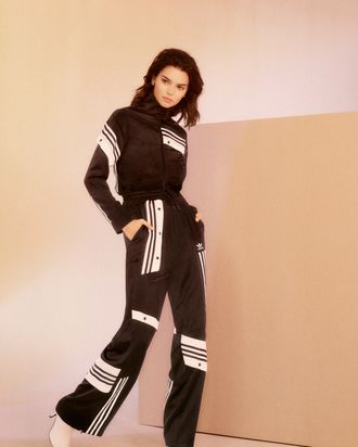 60e99df5565 Kendall Jenner Had Really Nice Things to Say About Armie Hammer s Adidas  Tracksuits