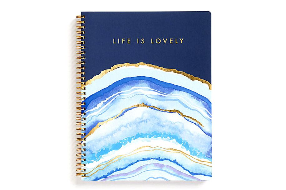Life Is Lovely Spiral Notebook