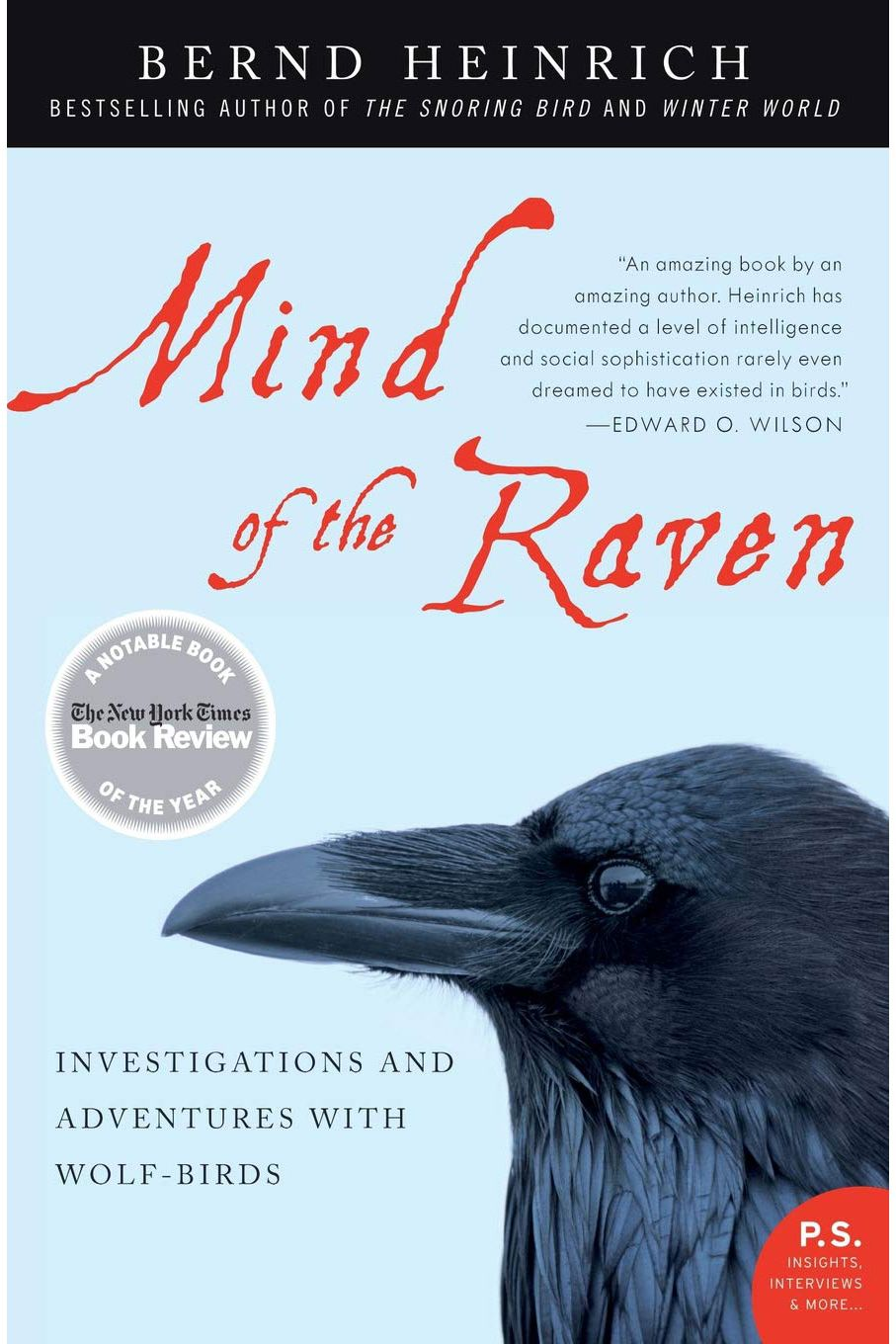 <em>Mind of the Raven</em> by Bernd Heinrich