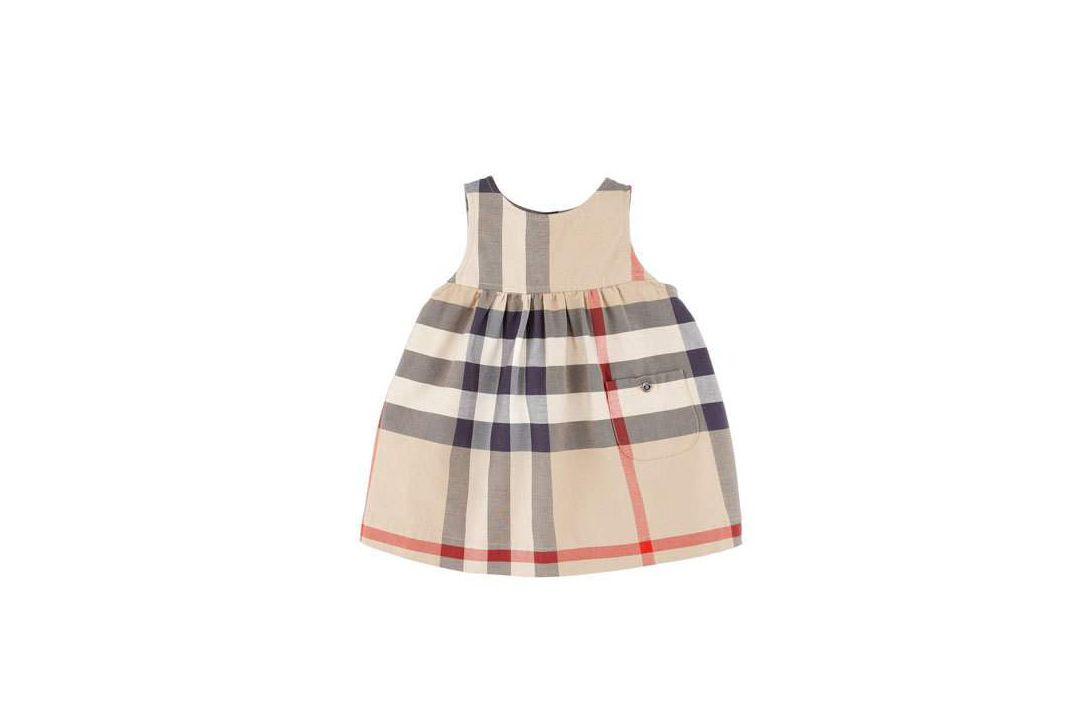 Burberry Della Check Sleeveless Jumper