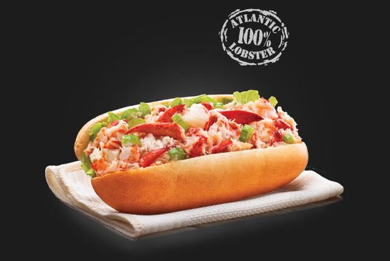 The fast food lobster roll is back on the menu for a limited time.