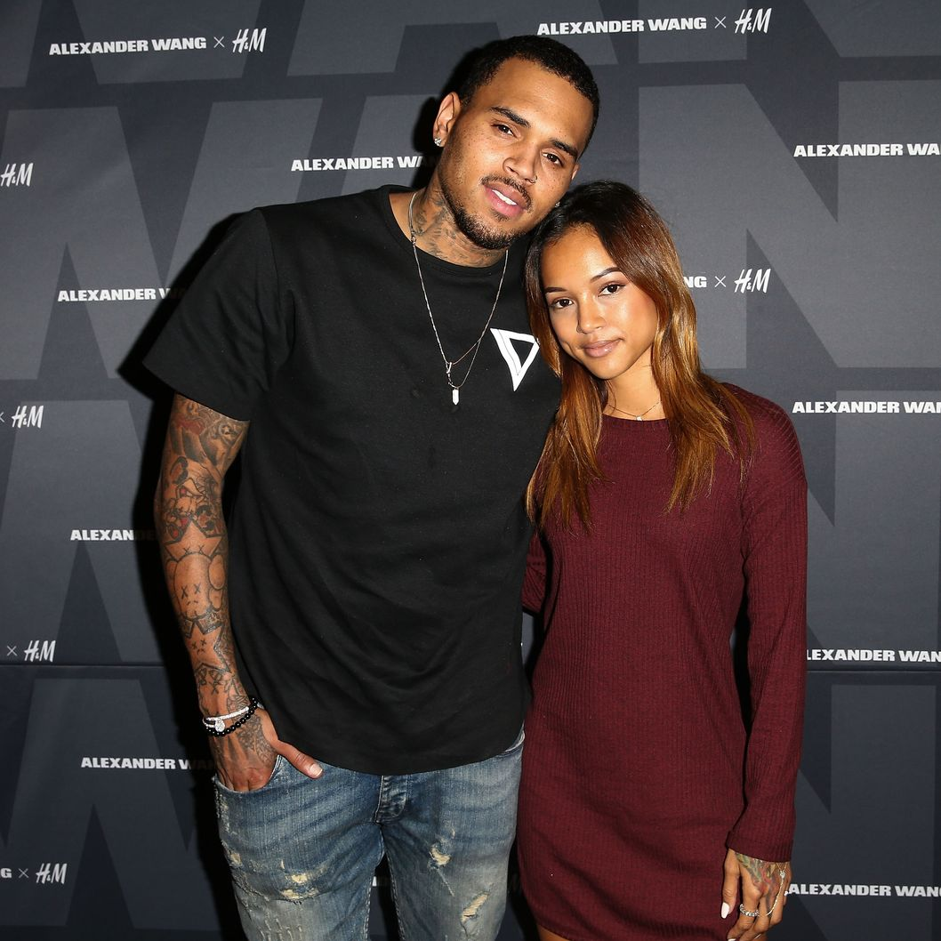who is chris brown currently dating 2014