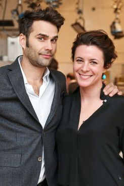 Chris Norton and Garance Doré.