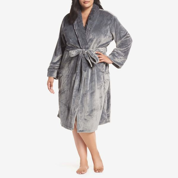 PJ Salvage Luxe Faux-Fur Robe