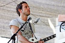 PERTH, AUSTRALIA - APRIL 05:  Anthony Gonzalez of the band M83 performs on stage during V Festival 2009 at the Claremont Showgrounds on April 5, 2009 in Perth, Australia.  (Photo by Paul Kane/Getty Images) *** Local Caption *** Anthony Gonzalez