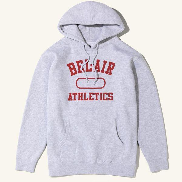 Bel-Air Athletics Men's Hoodie, Heather Gray