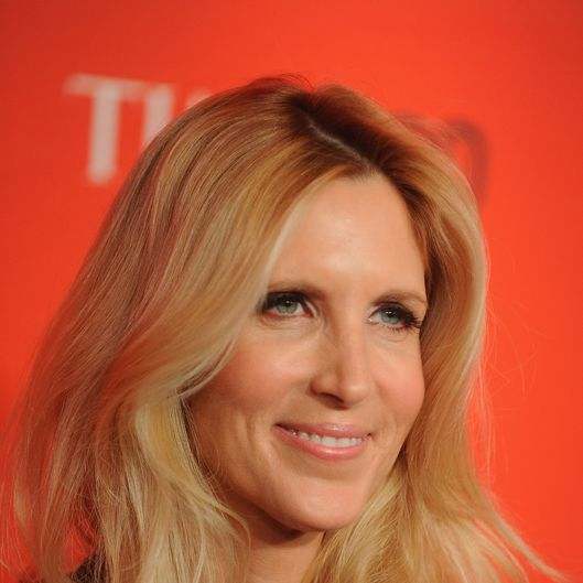 Ann Coulter attends the TIME 100 Gala celebrating TIME'S 100 Most Influential People In The World at Jazz at Lincoln Center on April 24, 2012 in New York City.