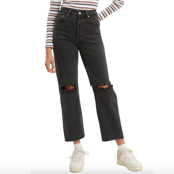 Levi's Women's Ribcage Straight Ankle Jeans (Cabo Nights)
