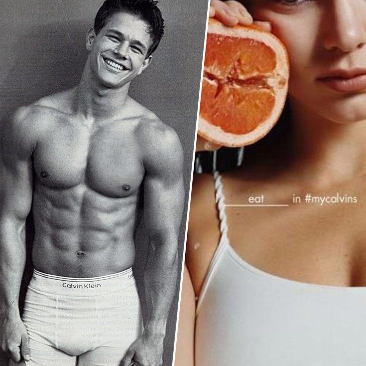 79ba9467959 Calvin Klein Underwear Ads  Mark Wahlberg to Justin Beiber