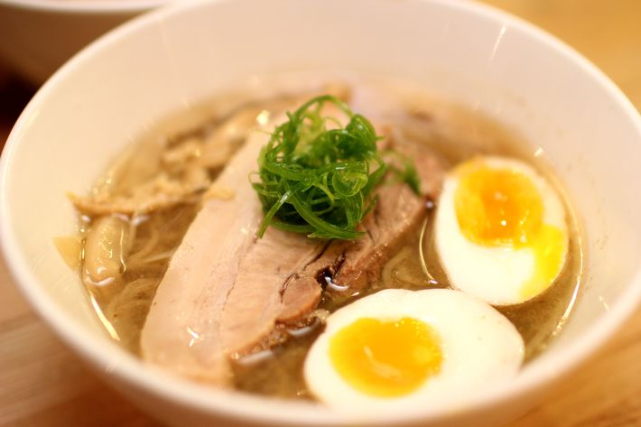 "A bowl of <a href=""http://newyork.grubstreet.com/2012/08/ivan_orkin_noodles.html"">Ivan Ramen</a>, not Takumi's"