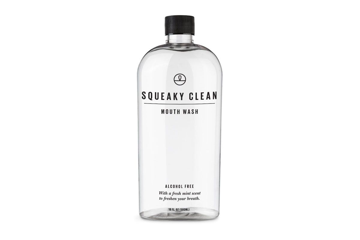 Squeaky Clean Fresh Breath Oral Mouth Rinse