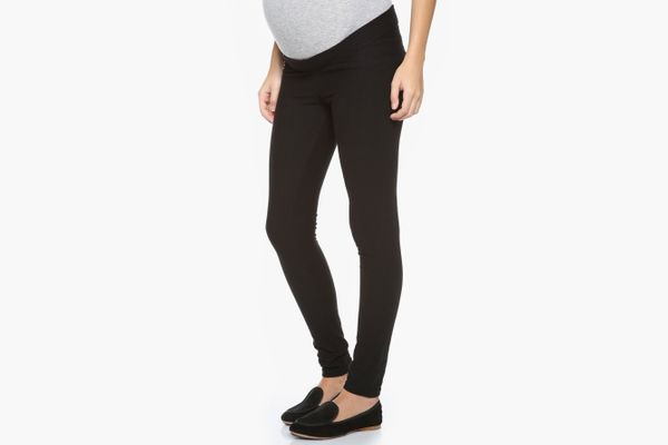 Plush Fleece Maternity Leggings