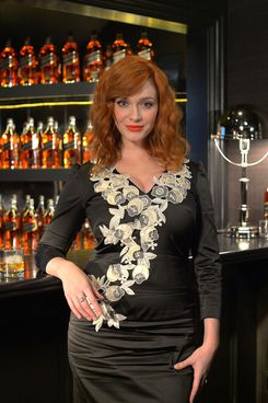 Christina Hendricks Loves Joan Halloween Costume -- Vulture