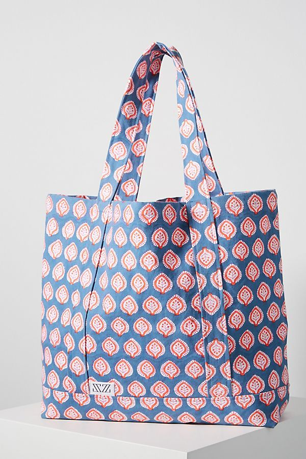 SZ Blockprints Printed Tote Bag