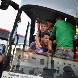 Chaos Surrounds The Migrant Crisis As Croatia Struggles To Cope With The Numbers
